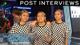 World Of Dance Philippines: Gtweens | Post-Interview