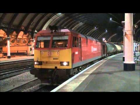 DB Schenker 60091 | 6N03 Lindsey to Jarrow | Thrashing away from York