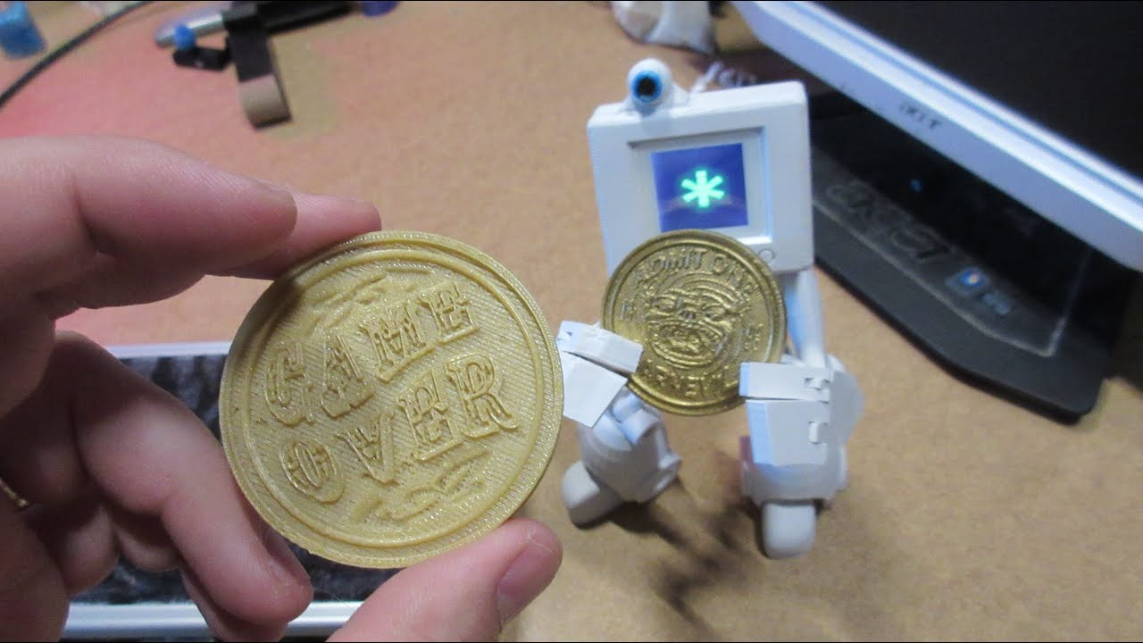 3D Printing Project - Carnevil Coin
