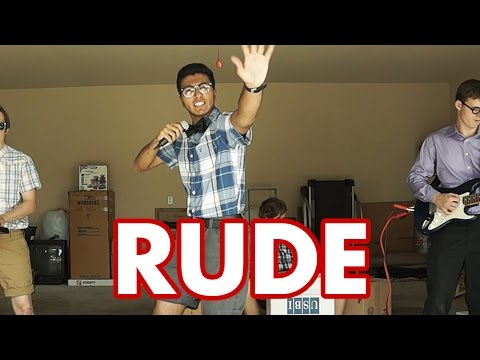 MAGIC!  Rude Nerdy Parody