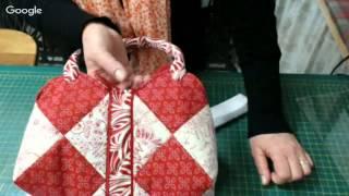 Patchwork Ao Vivo: bolsa em patchwork