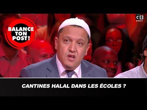 """""""Pour ou contre les cantines halal dans les écoles  ?"""" Gros désaccord sur le plateau !"""