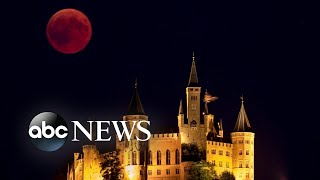 Experiencing the longest total lunar eclipse of the century