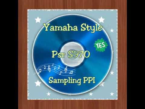 Yamaha Style Sampling PPI Psr s970
