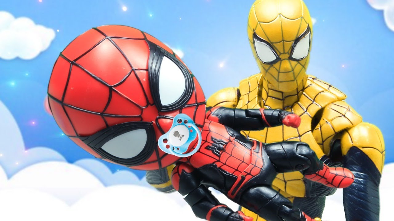 Spider-Man Homecoming Top 10 Action Scene In The Spider-Verse  Figure Stopmotion