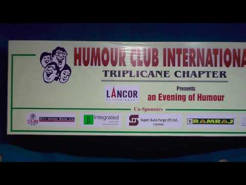 Humour Club International | Triplicane Chapter l An Evening of Laughter | ADVOCATE T.RAMALINGAM