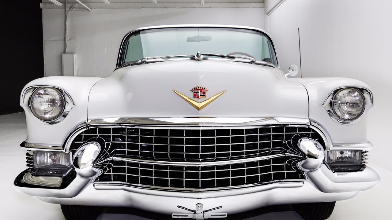 Cadillac Eldorado 2017 >> 1955 Cadillac Eldorado Convertible - YouTube