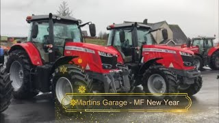Martins Garage MF New Year