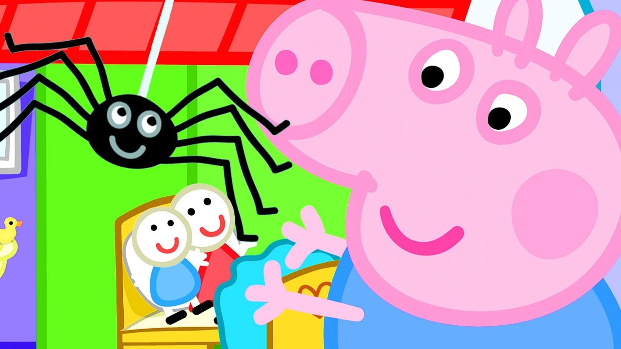 Download Peppa Pig Official Channel | George Pig's New Friend - Mister Skinny Leg