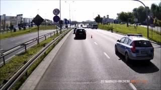 wypadek dk10 szczecin struga 23 05 2014