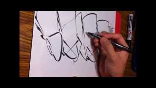 Guam Graffiti - Salad Throwup