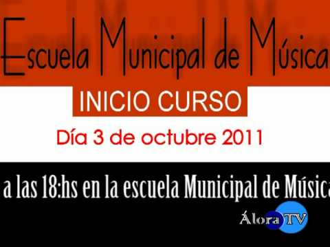 Escuela Municipal de Musica informa