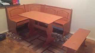 Breakfast Nook Assembly Service In Dc Md Va By Furniture Assembly Experts Llc