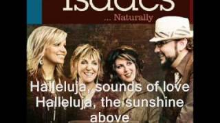 The Isaacs - Hallelujah    With lyrics!