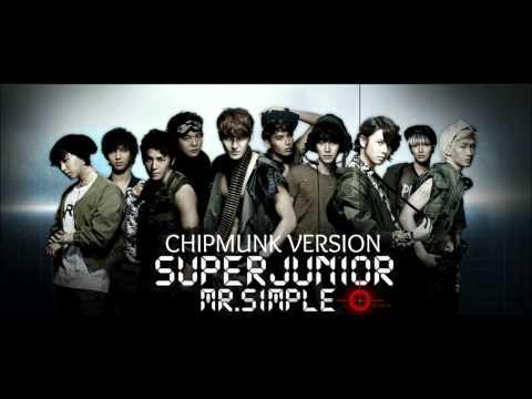 Super Junior - Mr. Simple [Chipmunk Version]