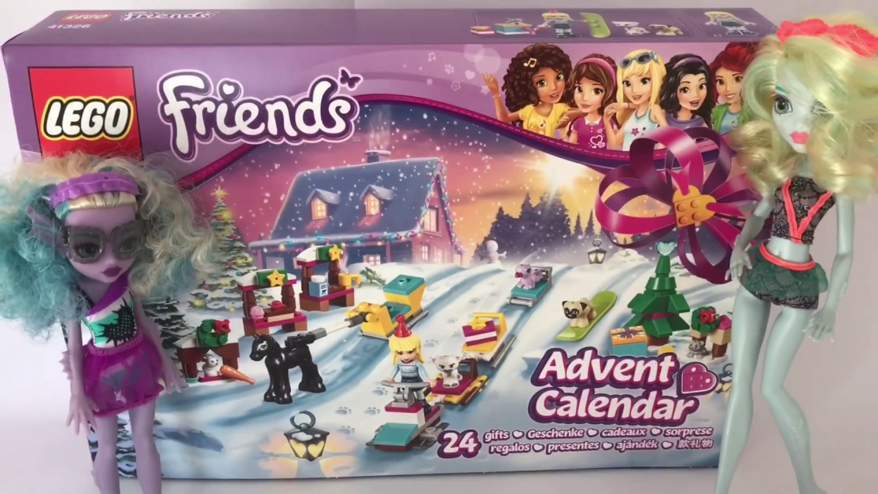 Weihnachtskalender Lego Friends.Lego Friends Adventskalender 41326