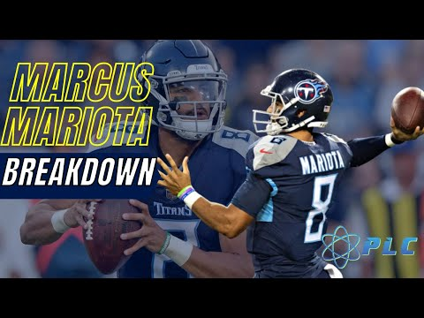Marcus Mariota Throw Breakdown | Performance Lab