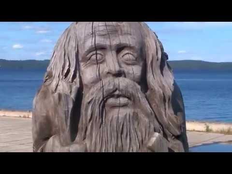 Шедевральные скульптуры в ПТЗ - деревянные статуи
