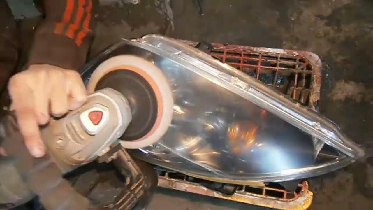Как снять бампер лансер 9. Как выправить вмятину на бампере.