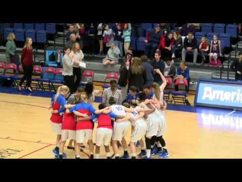 NCAAW Basketball. Army West Point At American University Women's Basketball 16.01.16