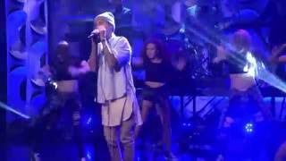 Justin Bieber performing Sorry on Jimmy Fallon show