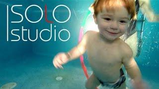 Реклама AquaKids: грудничковое плавание и динамическая гимнастика