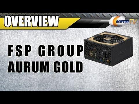 Newegg TV: FSP Group AURUM GOLD Series Power Supply Unboxing
