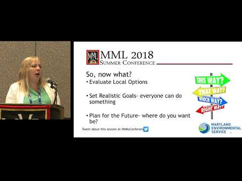 Waste Management Solutions - MML 2018 Summer Conference Workshop