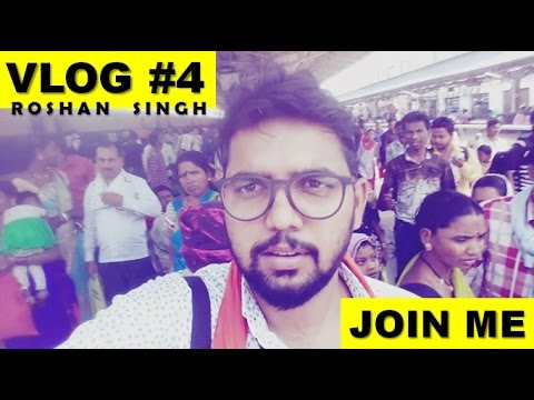 VLOG #4 - Traveling for Trailer Shoot by Train from Korba To
