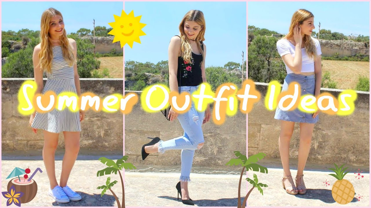 Summer Outfit Ideas | Collab w/ Carli Kimby