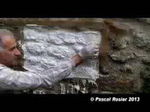 Moulage des parements en platre ou en ciment youtube - Pierre de parement interieur ...