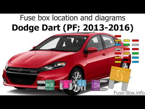 Fuse box location and diagrams: Dodge Dart (PF; 2013-2016) - YouTubeYouTube