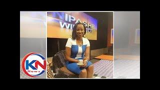 Emotions run high as outgoing Swahili anchor Kanze Dena bids farewell to TV