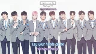 """Video [ซับไทย/HAN] PRODUCE101 - """"Hands on me"""" Color Code download MP3, 3GP, MP4, WEBM, AVI, FLV Januari 2018"""