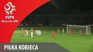 Piłka Kobieca: Bramki z meczu Polska - Rumunia