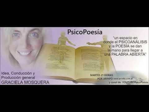 PsicoPoesía 21 de noviembre 2017 MARIO MONTENEGRO