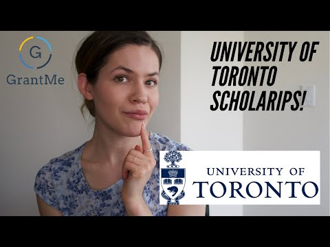 How to WIN University of Toronto Scholarships and Grants