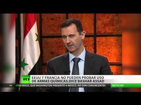 """Al Assad: """"Si Occidente emprende una acción militar se desatará una guerra regional"""""""