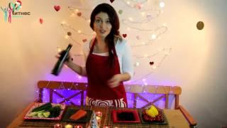 Средиземноморский диетический салат с красной рыбой  Легкие рецепты с Натали Пептонару