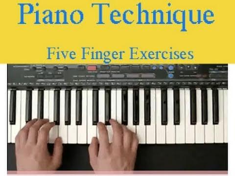 EXERCISES PIANO BEGINNER
