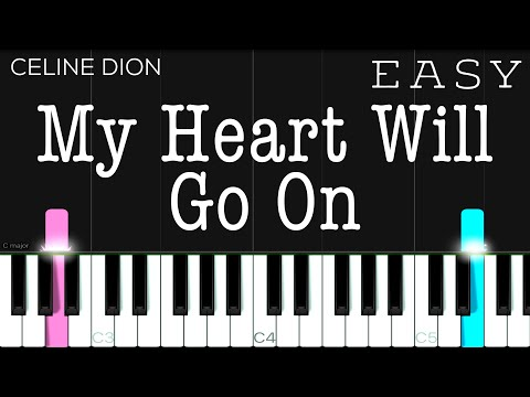 My Heart Will Go On (Titanic OST) - Celine Dion | EASY Piano Tutorial thumbnail