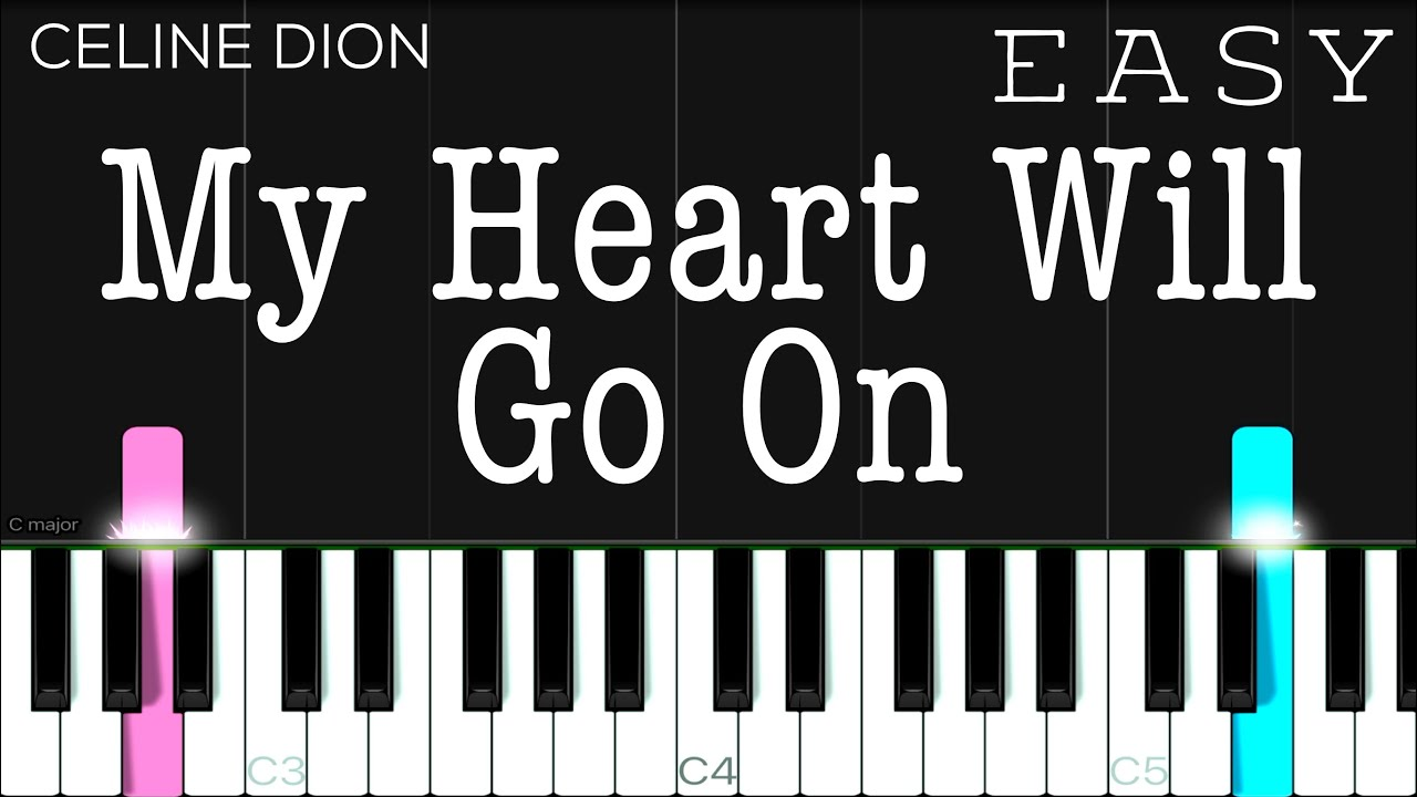 My Heart Will Go On (Titanic OST) - Celine Dion   EASY Piano Tutorial
