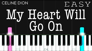 Download lagu My Heart Will Go On (Titanic OST) - Celine Dion   EASY Piano Tutorial