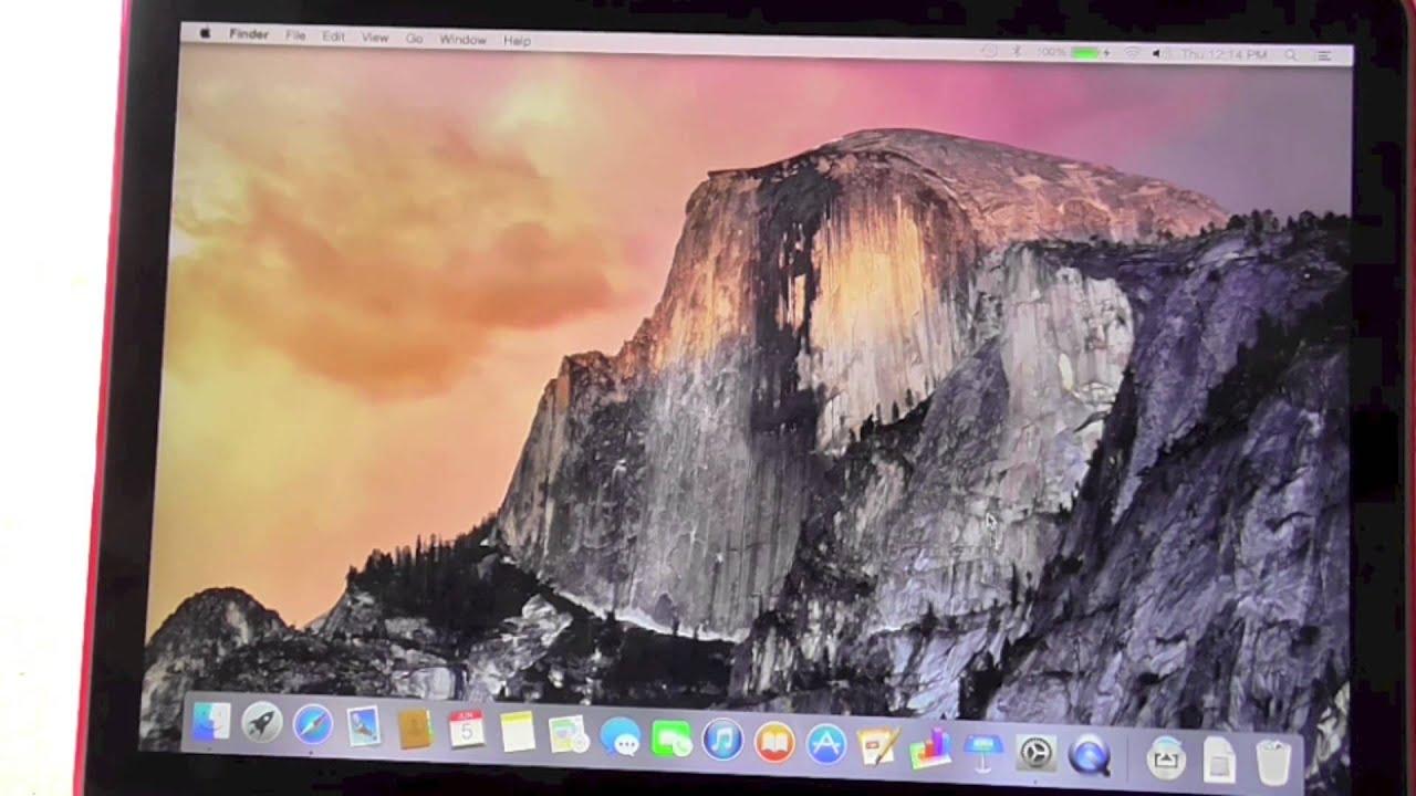 Macbook yosemite update