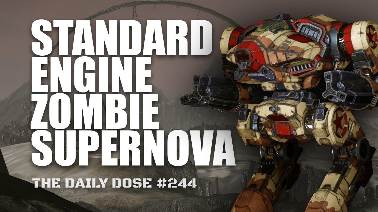 Zombie laservomit supernova build mechwarrior online the for Zombie build