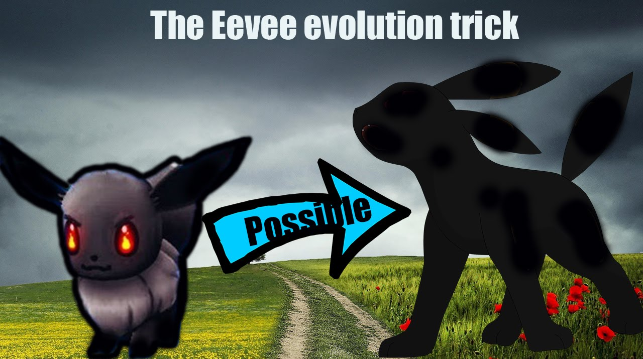 eevee names to evolve