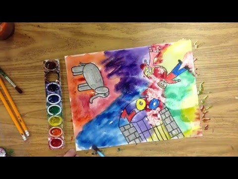 Art Inspired by Marc Chagall