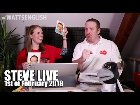 Games to help the children start speaking and using English | Steve Live no.10
