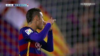 Neymar vs Athletic Bilbao (Home) 15-16 HD 720p - English Commentary
