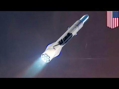 Blue Origin vs SpaceX: Jeff Bezos rocket wins $500m USAF deal - TomoNews